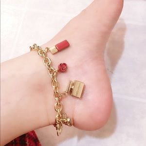 💯% Auth. Dolce and Gabbana charm bracelet/anklet